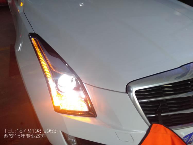 凯迪拉克atsl改装LED汽车大灯