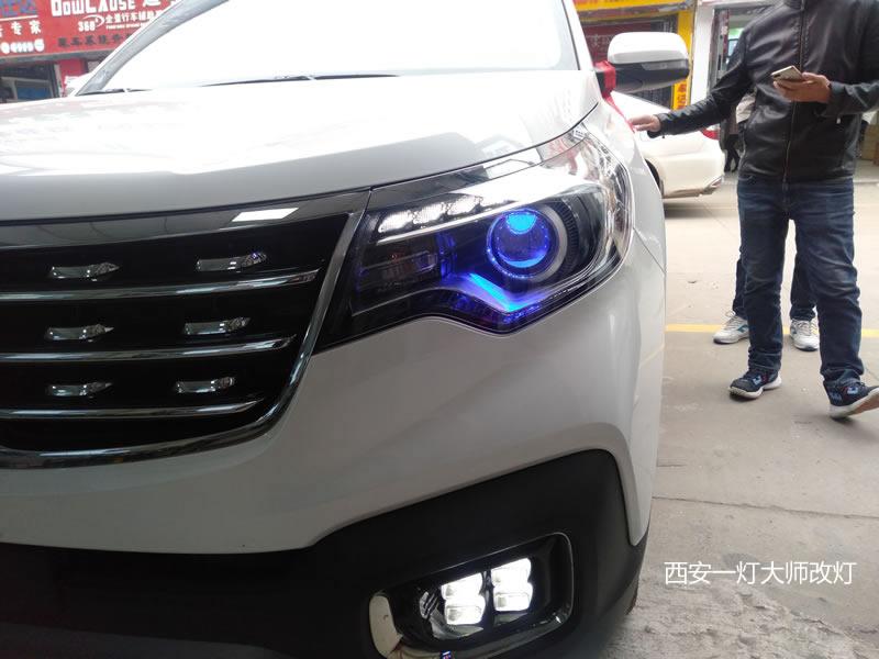 西安改装智跑LED大灯